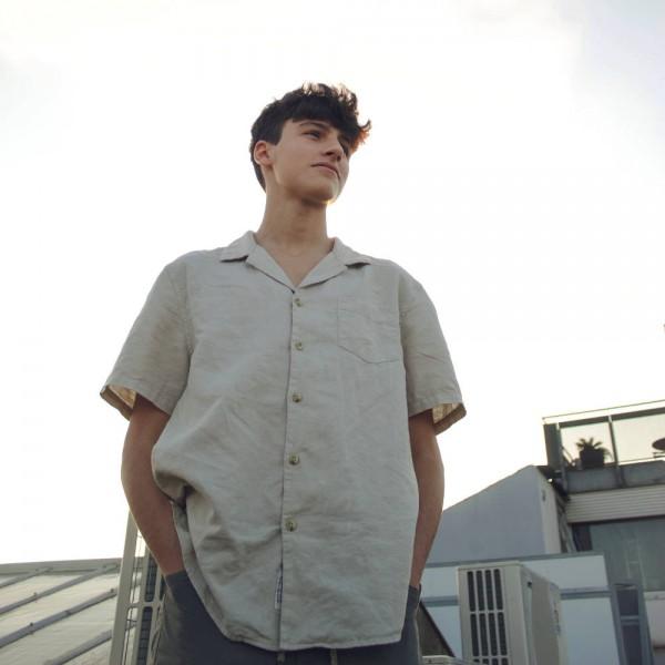 오버핏 슬리브 셔츠